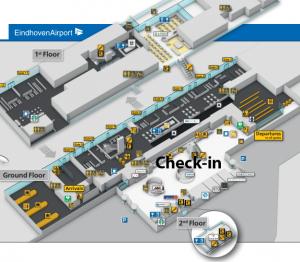 Vertrektijden-Eindhoven-Airport